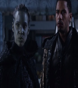 Nimue dark one and merlin once upon a time ABC Elliot Knight