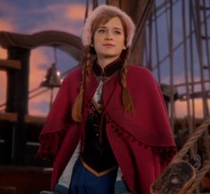 Princess Anna once upon a time ABC Elizabeth Lail