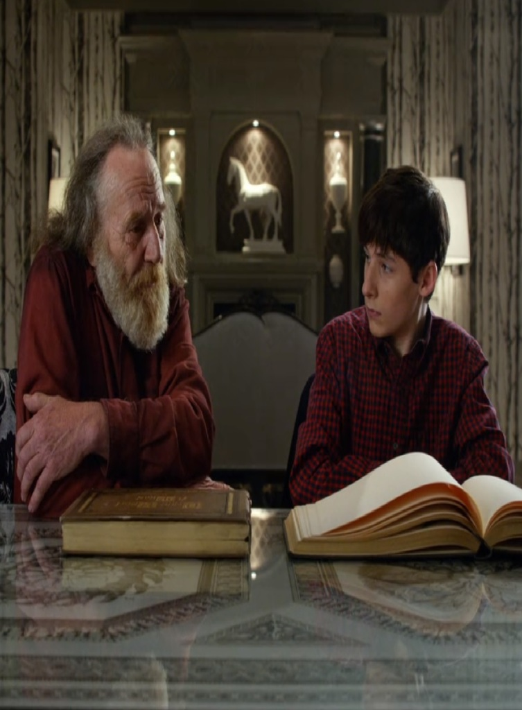 The Apprentice teaches Henry Mills how to be the author once upon a time Timothy Webber