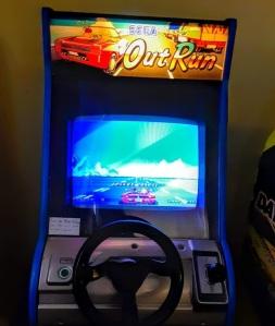 OutRun arcade machine sega