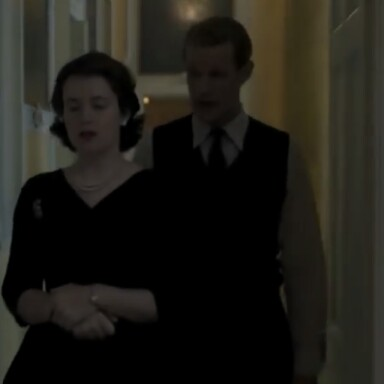 Queen Elizabeth II and prince Phillip argue over last name the crown Claire Foy Matt Smith