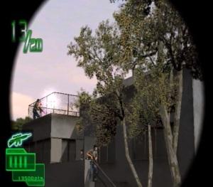 Ranger Mission arcade game sniper