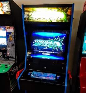 Ranger Mission arcade cabinet