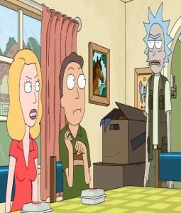 Rick Sanchez takes Jerry Smith fishing Rick and Morty cartoon network adult swim