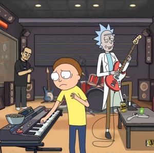 Rick and Morty music battle survival season 2 cartoon network adult swim