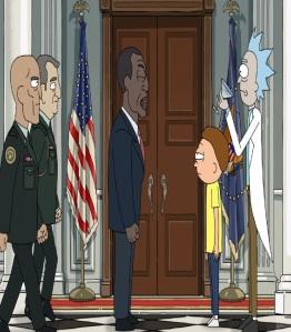 President Obama Rick and Morty cartoon network adult swim