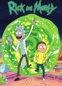 Rick and Morty season 1 poster cartoon network adult swim