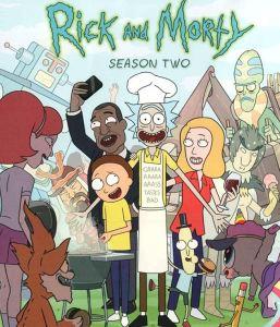 Rick and Morty season 2 poster cartoon network adult swim
