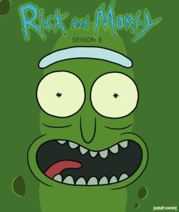 Rick and Morty poster season 3 pickel Rick cartoon network adult swim