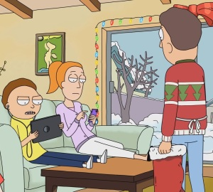 Morty Smith and summer ipads Christmas Rick and Morty cartoon network adult swim