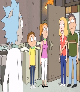 The Smith family season 2 Rick and Morty cartoon network adult swim