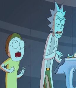 Morty Smith and Rick Sanchez season 1 Rick and Morty cartoon network adult swim