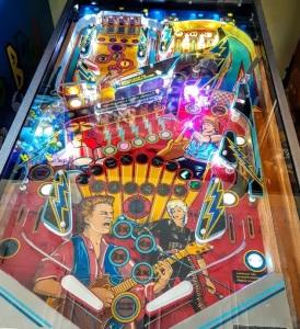 Rock Encore Pinball Machine board