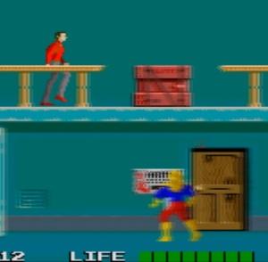 Rolling Thunder arcade game Atari Namco