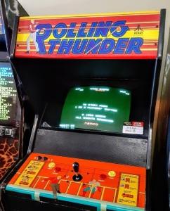 Rolling Thunder arcade cabinet Atari Namco