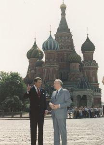 St Basil's Cathedral Ronald Reagan Soviet Union