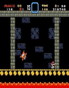 Roy Koopa defeated super Mario World snes super Nintendo