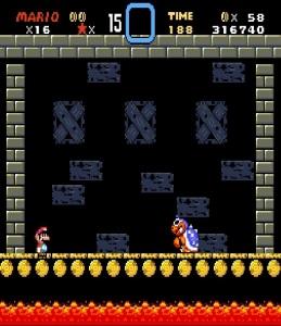 Roy Koopa boss Super Mario World snes super Nintendo