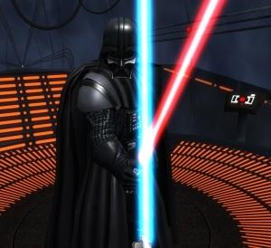 Star Wars Pinball Darth Vader lightsaber fight Nintendo Switch