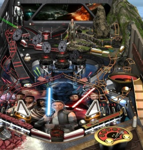Star Wars Pinball sequel Trilogy board Nintendo Switch