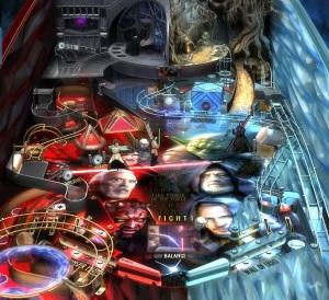 Star Wars Pinball prequel board Nintendo Switch