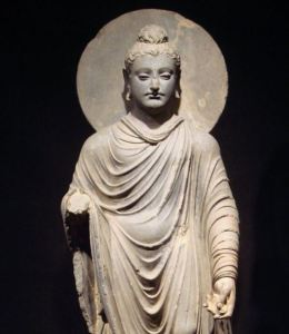 Historically accurate statue of Buddha Buddhism