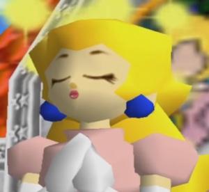 Princess peach super Mario 64 Nintendo 64 N64