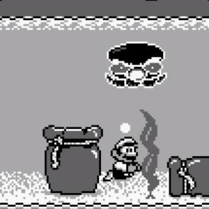 Pako octopus boss Super Mario Land 2 Nintendo Gameboy