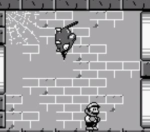 Mario vs sewer rat super Mario Land 2 Nintendo Gameboy