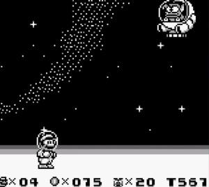 Boss battle Tatanga super Mario Land 2 Nintendo Gameboy
