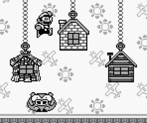 Last pig defeated Three Little Pigheads Super Mario Land 2 Nintendo Gameboy