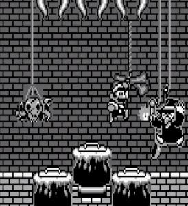 Witch boss Super Mario Land 2 Nintendo Gameboy