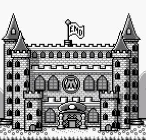 Mario gets castle back super Mario Land 2 Nintendo Gameboy