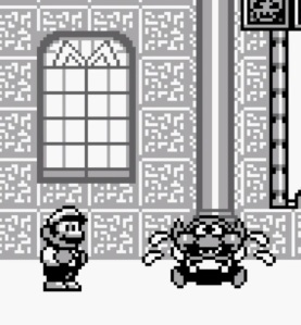 Wario crying super Mario Land 2 Nintendo Gameboy