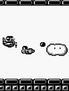 Mario vs Biokinton super Mario Land Nintendo Gameboy