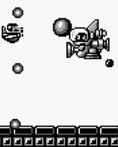 Mario vs Tatanga super Mario Land Nintendo Gameboy