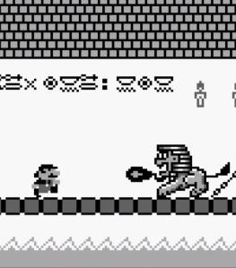 Mario vs King Totomesu super Mario Land Nintendo Gameboy