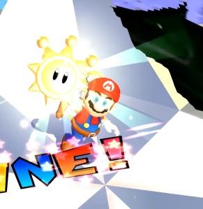 Mario gets shine Gooper Blooper Super Mario Sunshine Nintendo gamecube