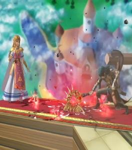 Female Byleth vs princess Zelda super Smash Bros ultimate Nintendo Switch