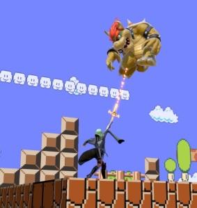 Female Byleth vs Bowser sword of the creator super Smash Bros ultimate Nintendo Switch