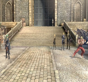 Garreg Mach Monastery Super Smash Bros. Ultimate Byleth vs Ken Masters Nintendo Switch