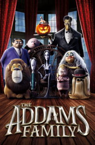 The Addams Family movie poster 2019