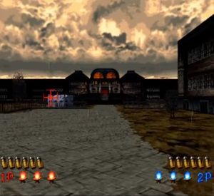 First level The House of the Dead Sega arcade