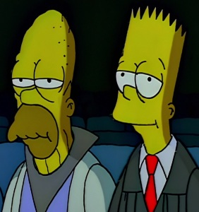 Bart Simpson chief Justice of the Supreme Court the Simpsons