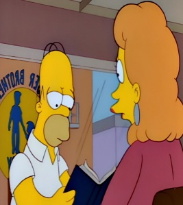 Homer Simpson joins big brothers big sisters the Simpsons