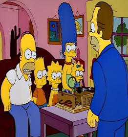 Herb Powell baby translator machine the Simpsons