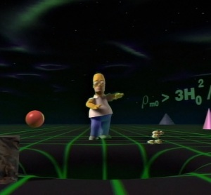 Treehouse of horror Homer Simpson goes 3d the Simpsons