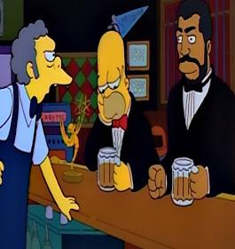 Boxer Joe Frazier cameo the Simpsons