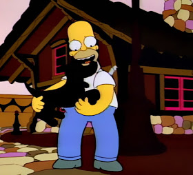 Land of chocolate daydream Homer Simpson the Simpsons