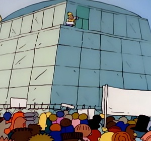 Homer Simpson accepts job as safety inspection Springfield nuclear power plant the Simpsons